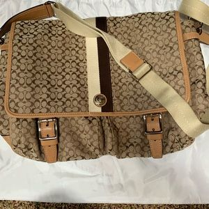 COACH large bag, diaper bag or can use for laptop